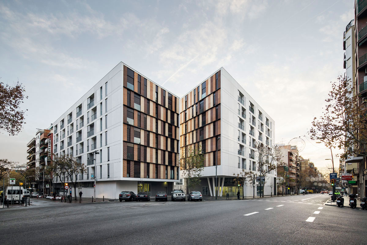 Residential Complex with 154 Dwellings in Barcelona​