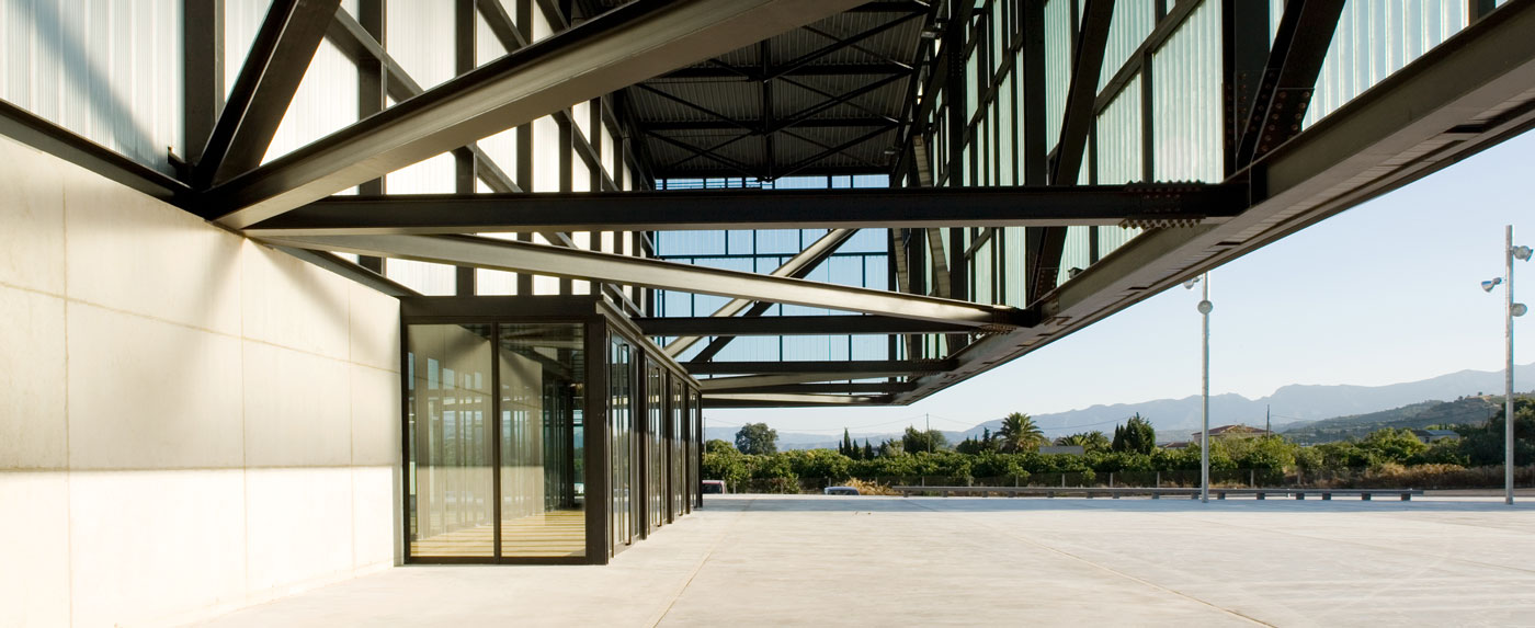 Sports and Fairground Pavilion in Tortosa​