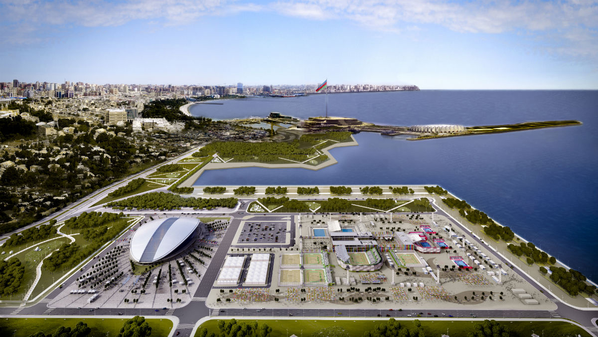 SPORT COMPLEX FOR THE EUROPEAN GAMES – BAKÚ 2015