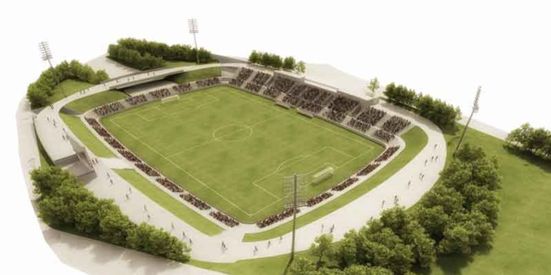 CF BADALONA NEW STADIUM
