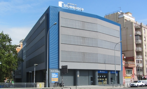 NEW BLUESPACE BUILDING