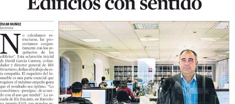 ¡Noticia en La Vanguardia!