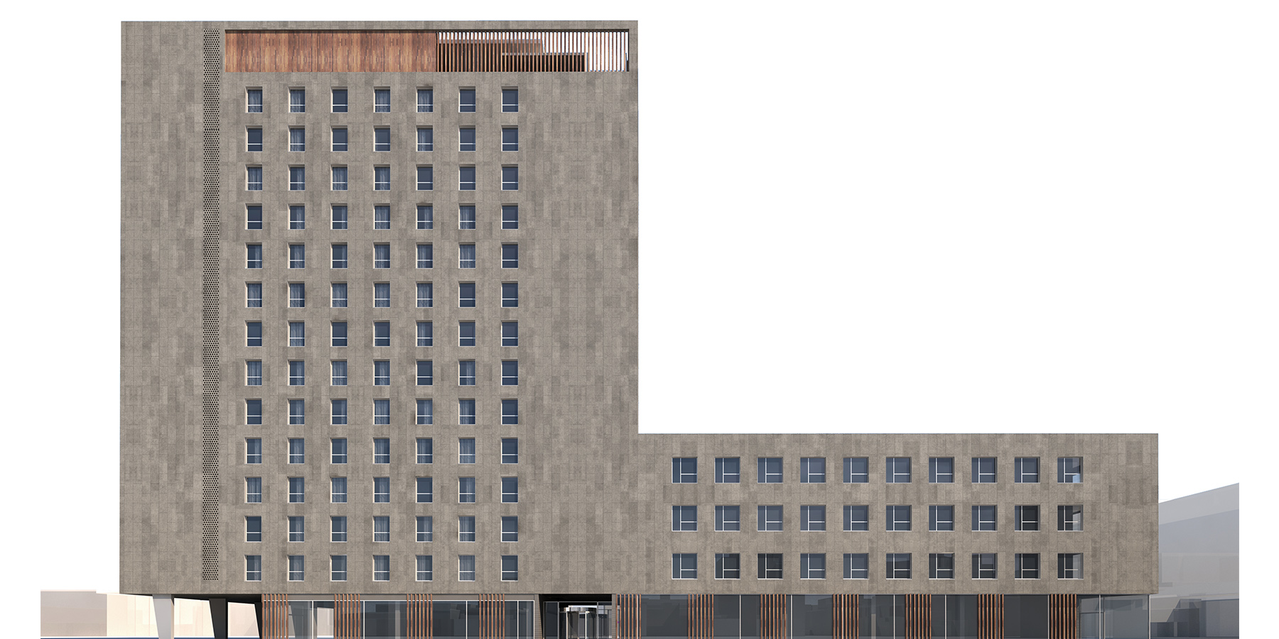 HOTEL + OFFICES LLACUNA